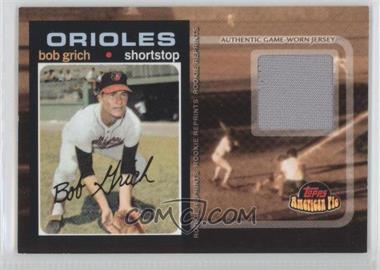 2001 Topps American Pie Rookie Reprint Relics #BBRR-193 - Bobby Grich