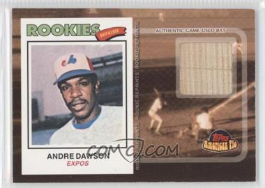 2001 Topps American Pie Rookie Reprint Relics #BBRR-473 - Andre Dawson
