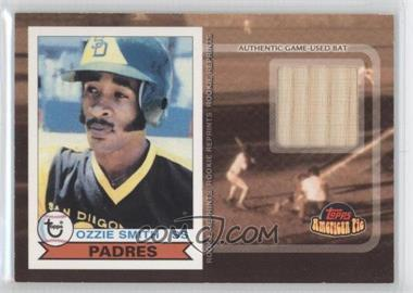 2001 Topps American Pie Rookie Reprint Relics #BBRR-OS - Ozzie Smith
