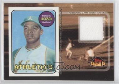 2001 Topps American Pie Rookie Reprint Relics #BBRR-RJ - Reggie Jackson