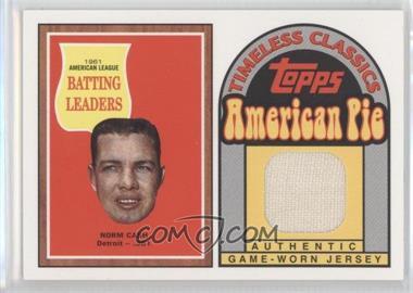 2001 Topps American Pie Timeless Classics #BBTC-27 - Norm Cash