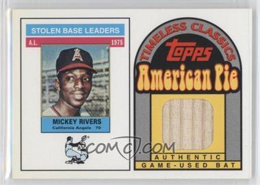 2001 Topps American Pie Timeless Classics #BBTC-32 - Mickey Rivers