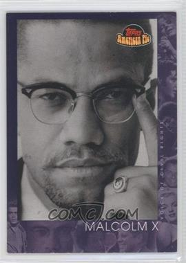 2001 Topps American Pie #150 - Malcolm X