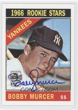 2001 Topps Archives Autographs #103 TAA - Bobby Murcer