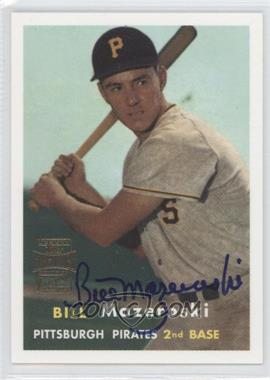 2001 Topps Archives Autographs #53 TAA - Bill Mazeroski