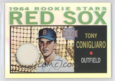 2001 Topps Archives Reserve Rookie Reprint Relics #ARR2 - Tony Conigliaro
