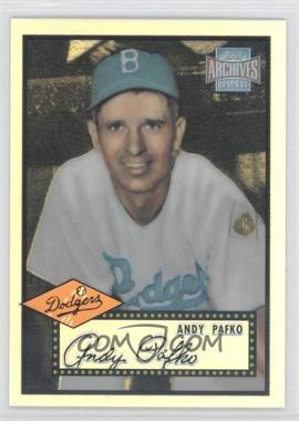 2001 Topps Archives Reserve #62 - Andy Pafko