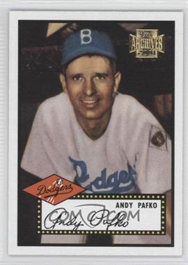 2001 Topps Archives #11 - Andy Pafko