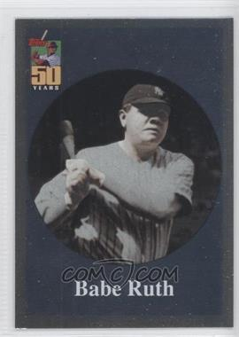 2001 Topps Before There was Topps #BT2 - Babe Ruth