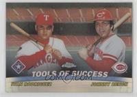 Ivan Rodriguez, Johnny Bench