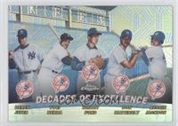 Derek Jeter, Yogi Berra, Whitey Ford, Don Mattingly, Reggie Jackson