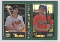Tracy Jones, Scot Thompson, Tripper Johnson