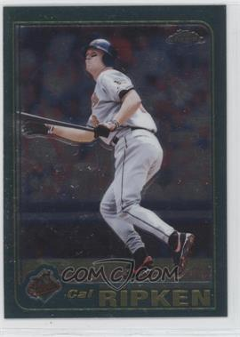 2001 Topps Chrome #1 - Cal Ripken Jr.