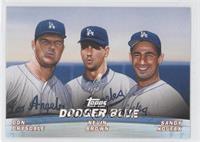 Don Drysdale, Kevin Brown, Sandy Koufax
