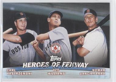 2001 Topps Combos #TC13 - Carl Yastrzemski, Nomar Garciaparra, Ted Williams