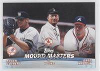 Cy Young, Greg Maddux, Roger Clemens