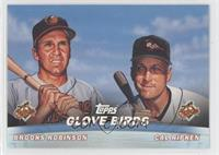 Brooks Robinson, Cal Ripken Jr.