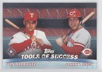 Ivan Rodriguez, Johnny Bench