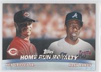 Hank Aaron, Ken Griffey Jr.