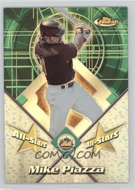 2001 Topps Finest - All-Stars - Refractor #FAS7 - Mike Piazza