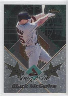 2001 Topps Finest - All-Stars #FAS1 - Mark McGwire
