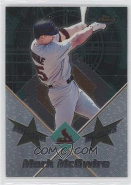 2001 Topps Finest [???] #FAS1 - Mark McGwire