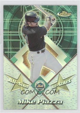 2001 Topps Finest All-Stars Refractor #FAS7 - Mike Piazza