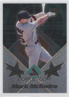 2001 Topps Finest All-Stars #FAS1 - Mark McGwire