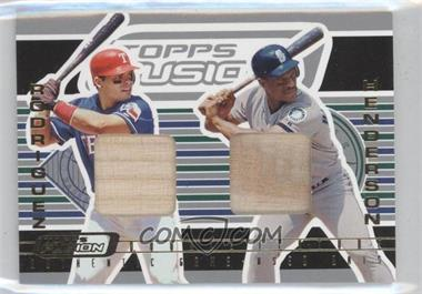 2001 Topps Fusion Double Feature Relics #DF1 - [Missing]