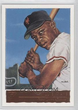 2001 Topps Gallery #50.1 - Willie Mays (With New York Giants)