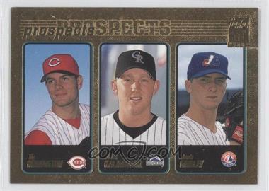 2001 Topps Gold #365 - Ty Howington, Josh Kalinowski, Josh Girdley /2001