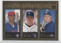 Eric Munson, Bucky Jacobsen, Travis Hafner /2001