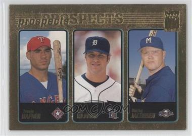 2001 Topps Gold #371 - Travis Harper, Eric Munson, Bucky Jacobsen /2001