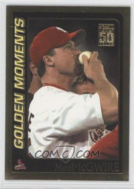 2001 Topps Gold #377 - Mark McGwire /2001