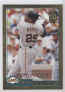 2001 Topps Gold #497 - Barry Bonds /2001