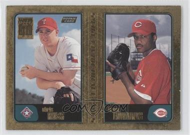 2001 Topps Gold #744 - Chico Ruiz, Brian Edmondson, Chris Russ /2001