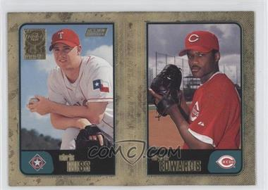 2001 Topps Gold #744 - Chris Russ, Bryan Edwards /2001
