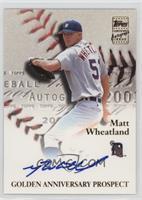 Matt Wheatland