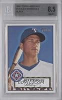 Alex Rodriguez (Black Back) [BGS 8.5]