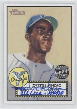 2001 Topps Heritage Autographs #THA-MM - Orestes Minoso