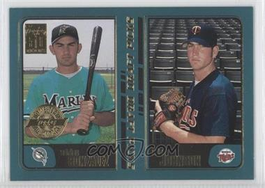 2001 Topps Home Team Advantage #352 - Adrian Gonzalez, Adam Johnson