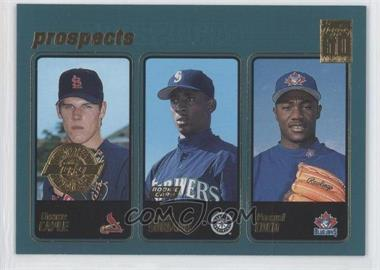 2001 Topps Home Team Advantage #370 - Chris Carpenter, Rafael Soriano, Pasqual Coco