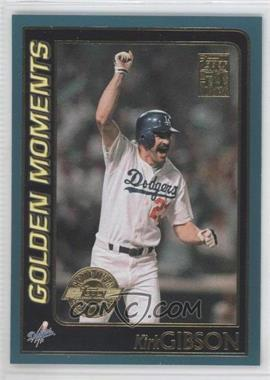 2001 Topps Home Team Advantage #382 - Kirk Gibson