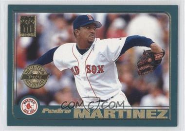 2001 Topps Home Team Advantage #60 - Pedro Martinez