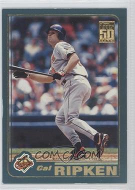2001 Topps Limited Edition #1 - Cal Ripken Jr.