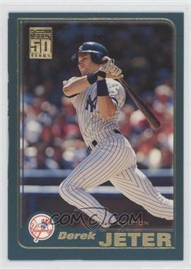 2001 Topps Limited Edition #100 - Derek Jeter