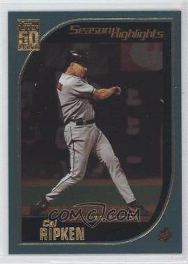 2001 Topps Limited Edition #387 - Cal Ripken Jr.