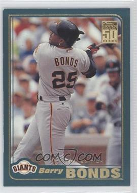 2001 Topps Limited Edition #497 - Barry Bonds