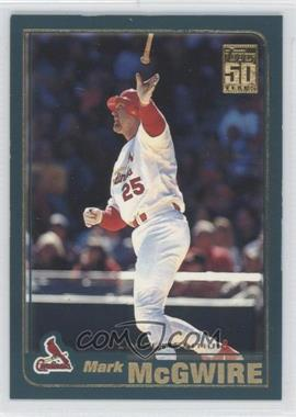 2001 Topps Limited Edition #50 - Mark McGwire