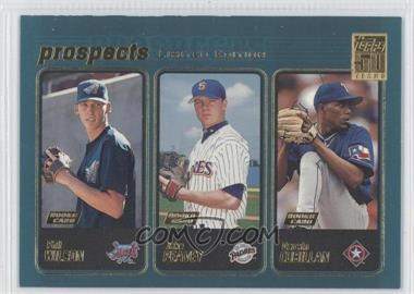 2001 Topps Limited Edition #728 - Darwin Cubillan, Phil Wilson, Jake Peavy